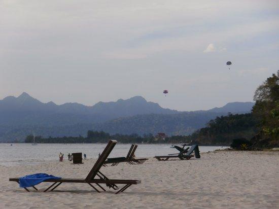 Tengah Beach : La plage de Tengah en fin de journée