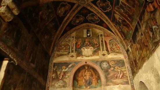 Ioannis Lampadistis (John Lampadistis Monastery):                   General view of Akathistos Imnos-circa 1500