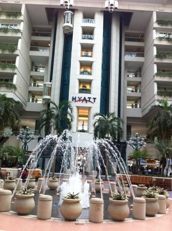 Hyatt Regency Orlando International Airport:                   ingresso