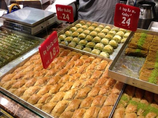 Culinary Backstreets -Tours: we tried almost every pastry or type of baclava in the shop!