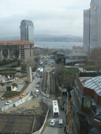 Point Hotel Taksim:                   View from restaurant on 9th floor