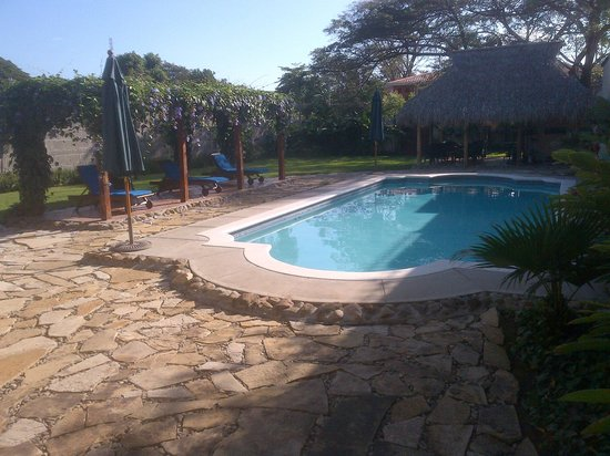 Hotel Los Robles:                   The pool