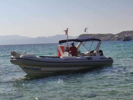 Meltemi Dive Centre: Our Dive Boat