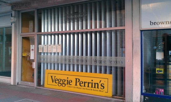 Veggie Perrin's:                   Veggie Perrins in Mayflower Street
