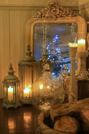 A corner of our cosy dining room