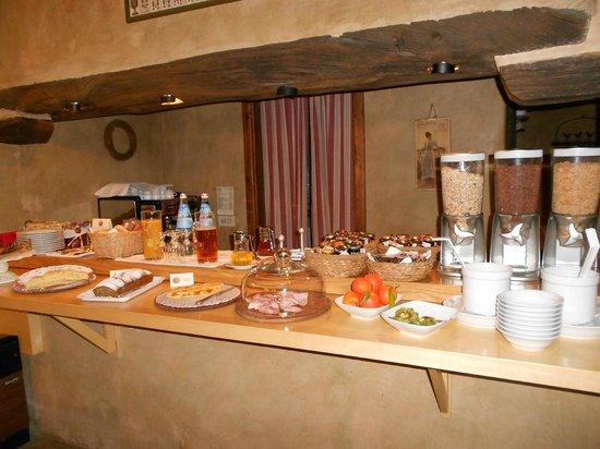 L'Ultimo Mulino Hotel Relais & Restaurant:                   PETITS DEJEUNERS