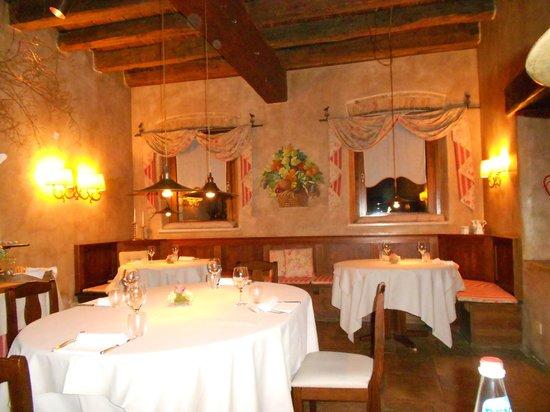 L'Ultimo Mulino Hotel Relais & Restaurant:                   SALLE DE RESTAURANT