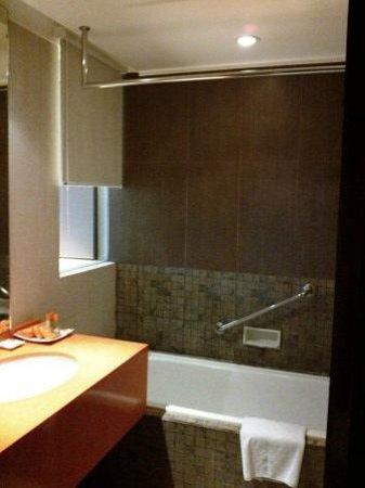 Hotel Grand Candi Semarang: peek a boo