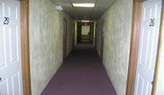 ‪‪Pittsfield Motor Inn‬: Hallway‬