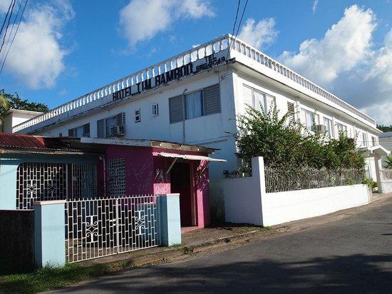 Hotel Tim Bamboo: Hotel Timbamboo in Port  Antonio, Jamaica.