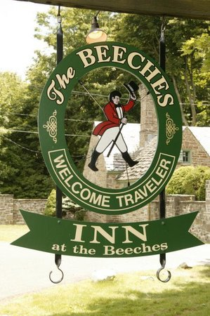 The Inn at the Beeches: Sign