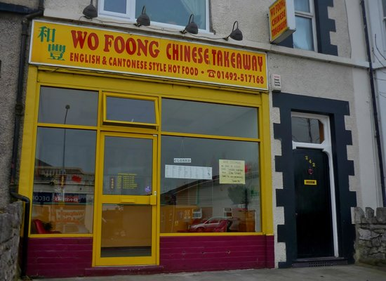 Chinese Food Old Colwyn