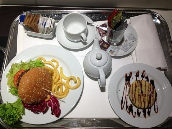 H10 Roma Citta: €23 room service meal