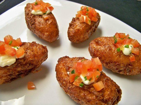 Heartwood Conference Center & Retreat: Potato Skin Poppers