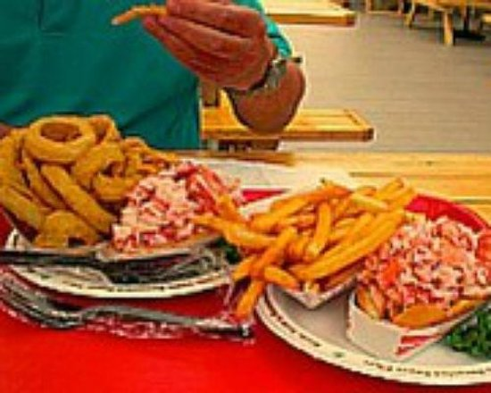 The Beach Plum:                   Good size portions, delicious seaside fare!