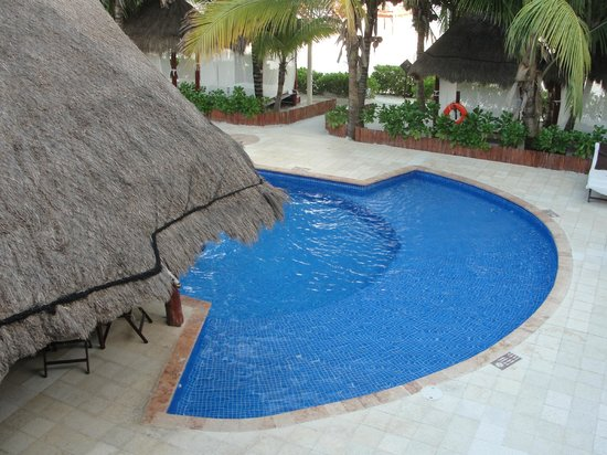 El Dorado Maroma, a Beachfront Resort, by Karisma:                   View from 2nd story room