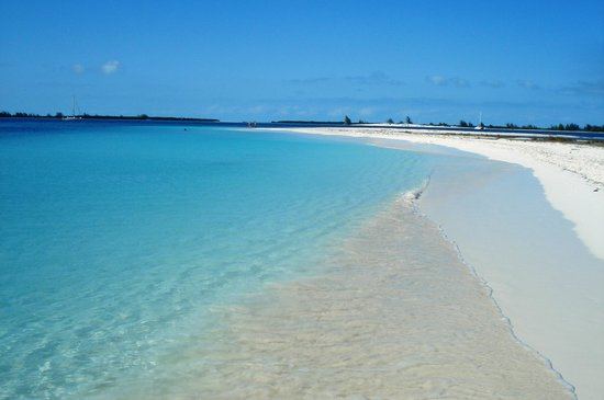 Playa Sirena: arena blanca, mar turquesa.....