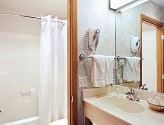 Microtel Inn & Suites by Wyndham Ames: Bathroom