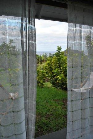 Hotel Altiplanico:                   Vista desde la habitación al mar
