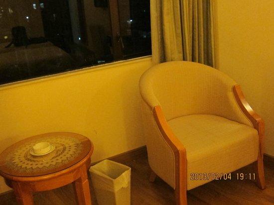 Fu Hua Guangdong Hotel:                   房內