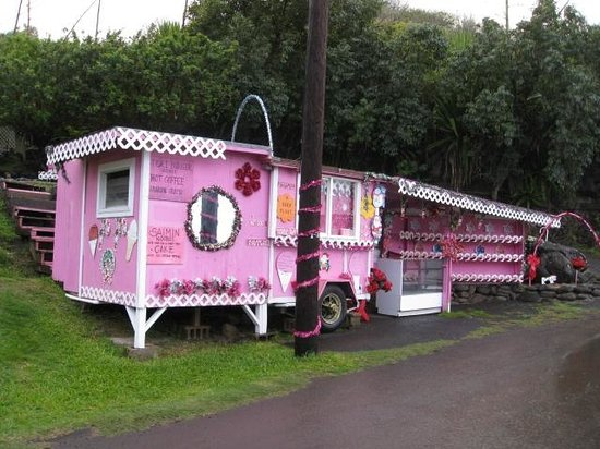 Maui Island Activities:                   Pink Refreshment Stand