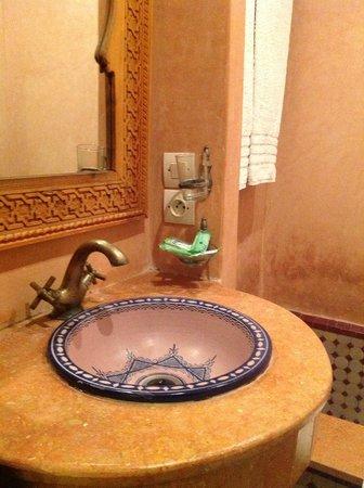 Dar Fes Medina:                   washroom