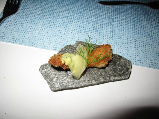 Sorrisniva:                   amuse bouche - just the beginning!