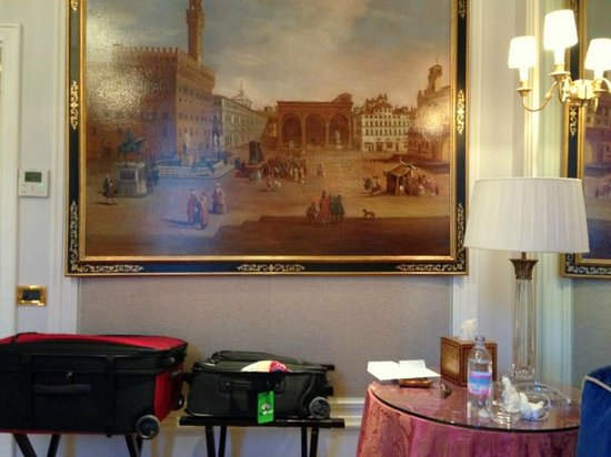 The St. Regis Florence: art in room