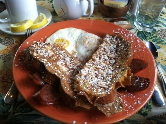 Tommy O'S Pacific Rim Bistro : aloha breakfast