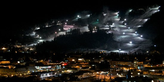 Snow King Resort: Snow King Night Skiing