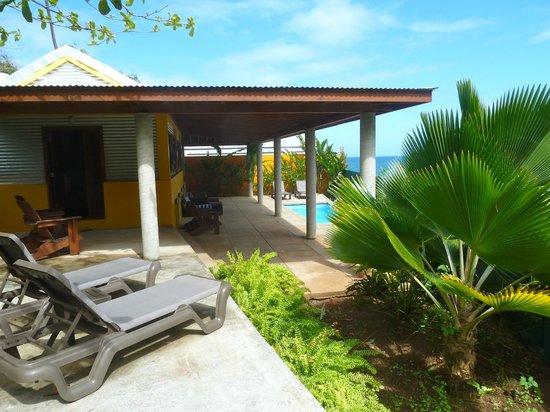 Pagua Bay House Oceanfront Cabanas:                   Cabana 5