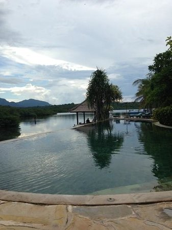 Mimpi Resort Menjangan:                   infinity pool
