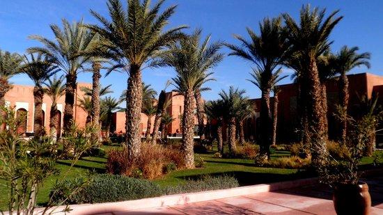 Kenzi Club Agdal Medina:                   jardin de l 'hotel