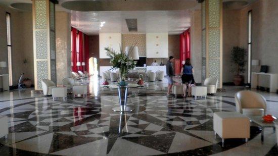 Kenzi Club Agdal Medina:                   réception hall d'entrée