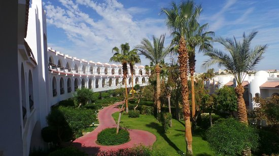Savoy Sharm El Sheikh:                   The view from our balcony