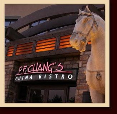 P.F. Chang's :                                     Picture of the restaurant- outside