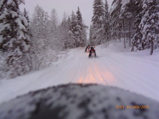 Perhesafarit Snowmobile Safaris: Fantastic fun