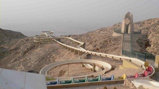 Mercure Grand Jebel Hafeet Al Ain: Scary water ride