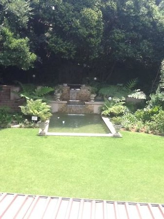 Sandton Lodge Inanda:                   View of pool and gardens