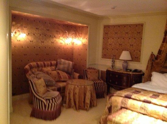 Baglioni Hotel Luna:                   COIN SALON DE LA CHAMBRE                 