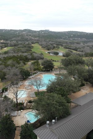 Omni Barton Creek Resort & Spa:                                     Great view of the pool (There is also an indoor pool in the