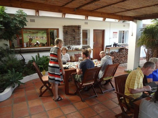Marula Lodge Guesthouse: BREAKFAST AREA