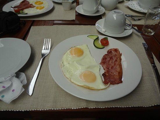 Marula Lodge Guesthouse: GREAT MEAL FOR BREAKFAST