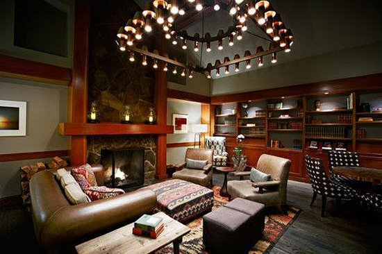 Salish Lodge & Spa: The Library