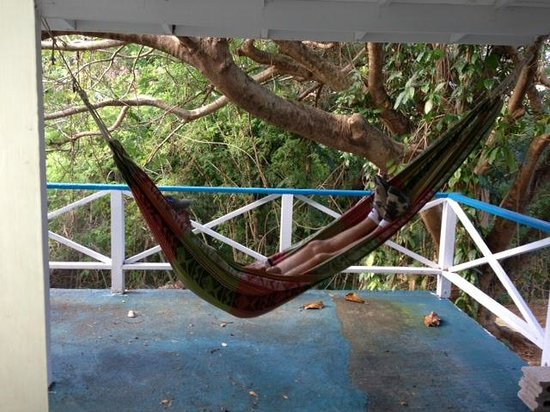 The Tamarind Club:                   Front Porch with swing