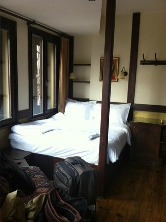 Hotel Empress Zoe:                   My quaint room!