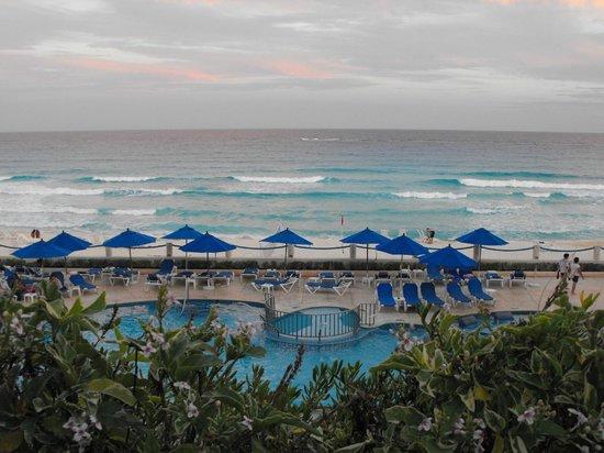 Occidental Tucancun:                   Barcelo Tucancun pool and beach
