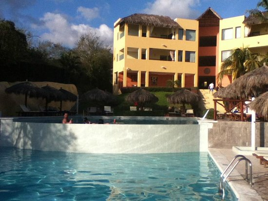 The Royal Suites Punta de Mita:                   Picture of Royal Suites taken from pool area