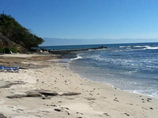 The Royal Suites Punta de Mita by Palladium:                   Beach at Royal Suites