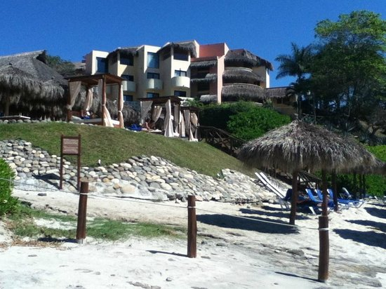 The Royal Suites Punta de Mita by Palladium:                   View of Grand Palladium taken from beach at Royal Suites